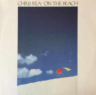 Chris Rea ‎- On The Beach (LP) (EX-/VG)